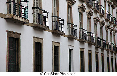 Historic building - Architecture of historic building in Rio