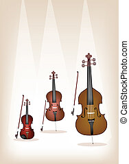 Beautiful Musical Instrument String