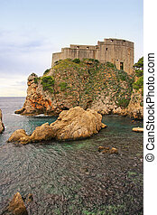 St Lawrence Fortress, Dubrovnik, Croatia