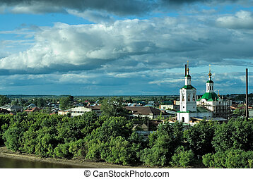 Voznesensko-Georgiyevsky church in Tyumen -...