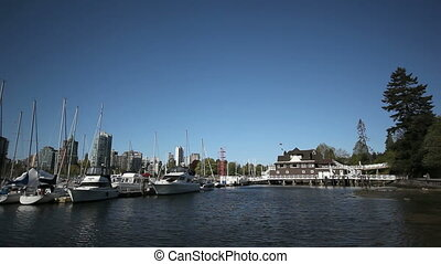 Vancouver Marina - Vancouvers trendy False Creek Marina with...