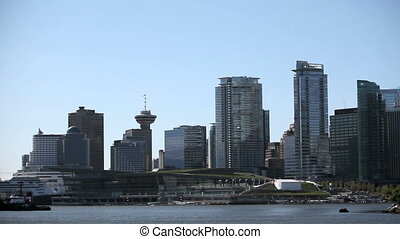Vancouver Skyline waterplane airport