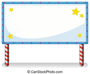 A white board with series lights - Illustration of a white...