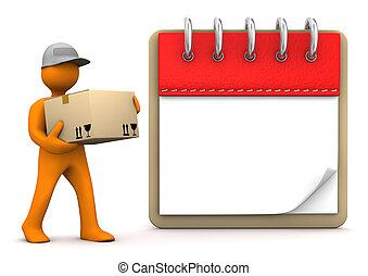Manikin Notepad Shipment