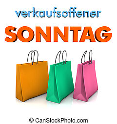 Shopping Bags Sunday Opening