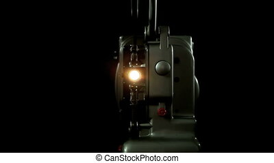 Vintage 8mm Projector light - Vintage Projector 8mm front...