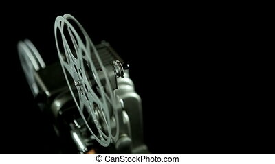 Film Reel 8mm black