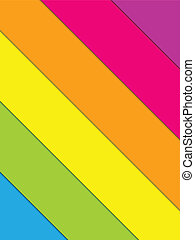 Colorful Lines Background Rainbow