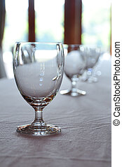 Goblet glass - An all-purpose glass for serving wine,...