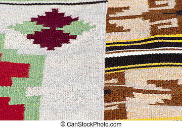 Homespun rugs - Traditional Ukrainian homespun wool rugs