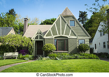 American craftsman house