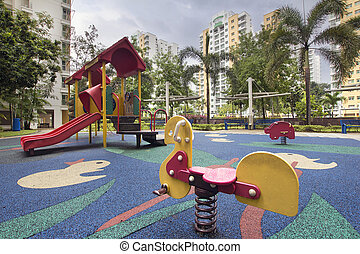 Singapore Public Housing Children Playground 2 - Singapore...