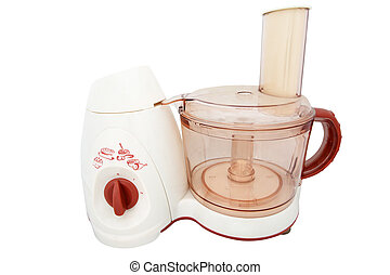 food processor - The image of food processor under the white...