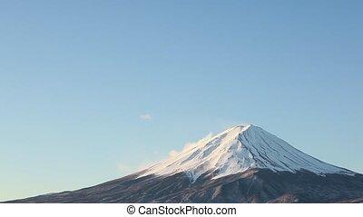 close up of Mt.Fuji