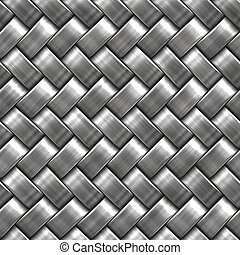 Metal Weave - A metal weave design for seamless tiling and...