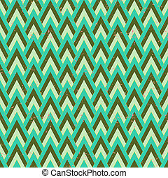 1930s geometric art deco pattern in faded green & grey...