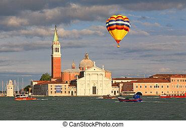 The San Giorgio Maggiore Church in Venice Italy