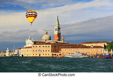 The scenery of Venice