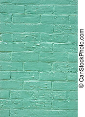 Brick Wall - vintage brick wall weathered scratched and...