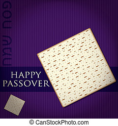 Happy Passover - Happy Passover card in vector format