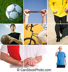 sport - active concept made from my photos great for your...