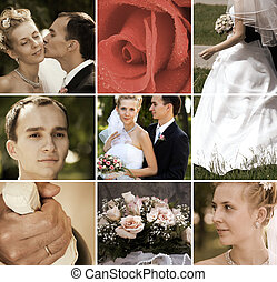 wedding day - special toned photo fx, made from my images...