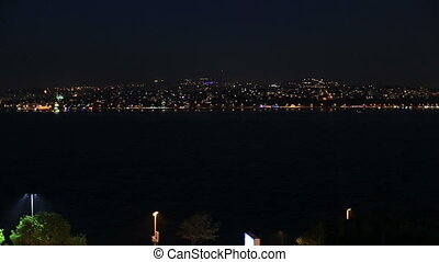 Istanbul City - Istanbul city u200Bu200Bview at the night