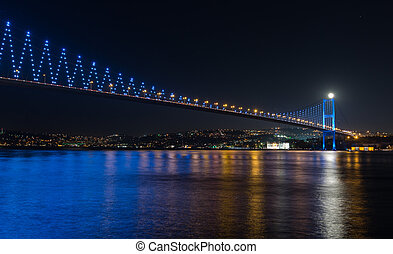 Bosporus Bridge at istanbul Turkey