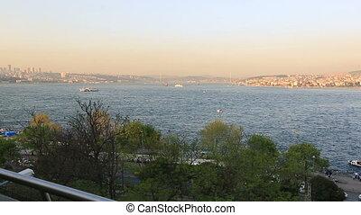 Bosporus time lapse