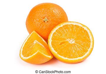 Exotic fruits oranges