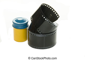 OLD FILM WITH CONTAINER