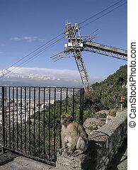 Gibraltar - Landscape of Gibraltar
