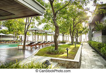Luxury holiday resort