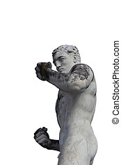 Olympic sport statue - boxing