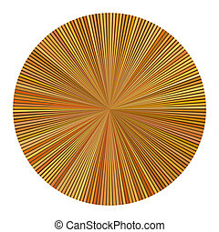 color wheel striped multiple orange
