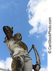 Olympic sport statue