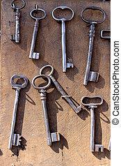 old set of keys