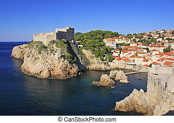 St Lawrence Fortress, Dubrovnik, Croatia - St Lawrence...
