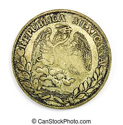 Old Coin of Mexicana 1884