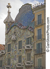 Casa Battlo at Barcelona, Gaudi