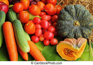 Fresh vegetables - fruit variety