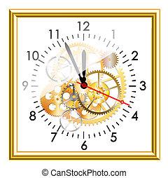 wite clock