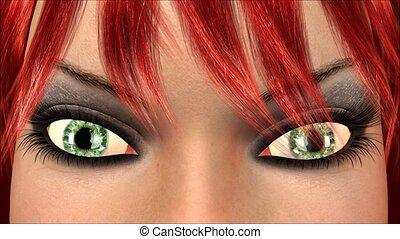 Blinking Eye Animation