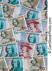 swedish crowns currency of sweden - swedish krona, the...