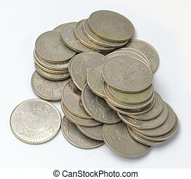 Saudi Coins Currency - Collection of Saudi Coins Currency