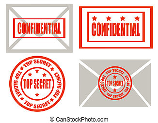 Top secret -stamps