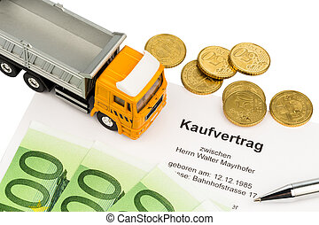 purchase contract for new trucks - a purchase contract for...
