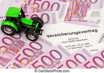 insurance contract for new tractor