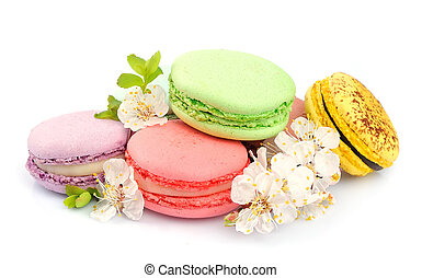 French macaroons Dessert