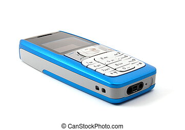 isolated cell phone